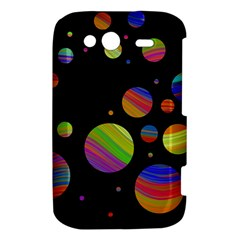 Colorful galaxy HTC Wildfire S A510e Hardshell Case