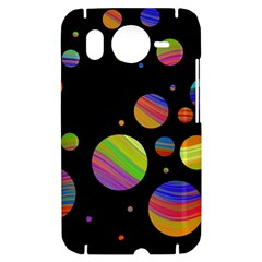Colorful galaxy HTC Desire HD Hardshell Case