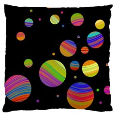 Colorful galaxy Large Cushion Case (Two Sides)
