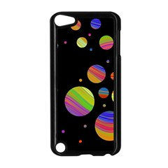 Colorful galaxy Apple iPod Touch 5 Case (Black)
