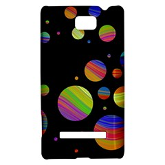 Colorful galaxy HTC 8S Hardshell Case