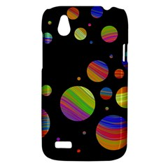 Colorful galaxy HTC Desire V (T328W) Hardshell Case