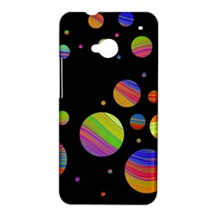 Colorful galaxy HTC One M7 Hardshell Case
