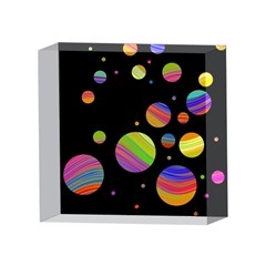 Colorful galaxy 4 x 4  Acrylic Photo Blocks