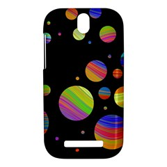 Colorful galaxy HTC One SV Hardshell Case