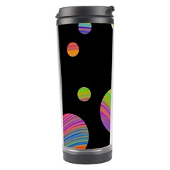 Colorful galaxy Travel Tumbler