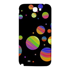 Colorful galaxy Samsung Note 2 N7100 Hardshell Back Case
