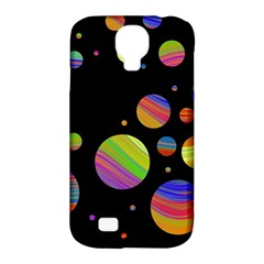 Colorful galaxy Samsung Galaxy S4 Classic Hardshell Case (PC+Silicone)