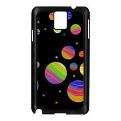 Colorful galaxy Samsung Galaxy Note 3 N9005 Case (Black)