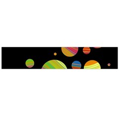 Colorful galaxy Flano Scarf (Large)