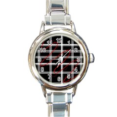 Not so simple  Round Italian Charm Watch