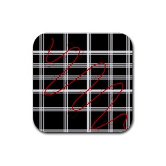 Not so simple  Rubber Square Coaster (4 pack)