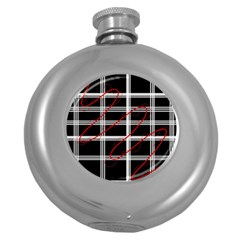 Not so simple  Round Hip Flask (5 oz)