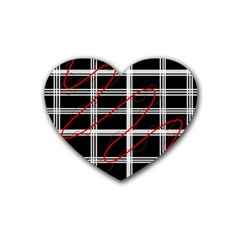 Not so simple  Rubber Coaster (Heart)