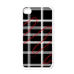 Not so simple  Apple iPhone 4 Case (White)