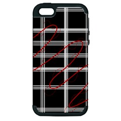 Not so simple  Apple iPhone 5 Hardshell Case (PC+Silicone)