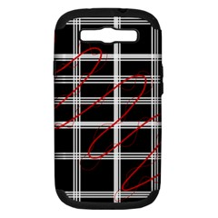 Not so simple  Samsung Galaxy S III Hardshell Case (PC+Silicone)