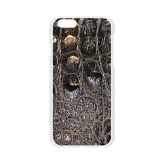 Texture Gator Skin Apple Seamless iPhone 6/6S Case (Transparent)
