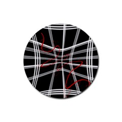 Not so simple 2 Rubber Round Coaster (4 pack)