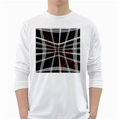 Not so simple 2 White Long Sleeve T-Shirts
