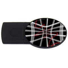 Not so simple 2 USB Flash Drive Oval (4 GB)
