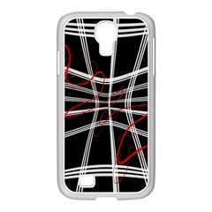 Not so simple 2 Samsung GALAXY S4 I9500/ I9505 Case (White)