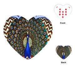 The Peacock Pattern Playing Cards (Heart)