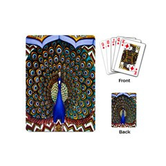 The Peacock Pattern Playing Cards (Mini)