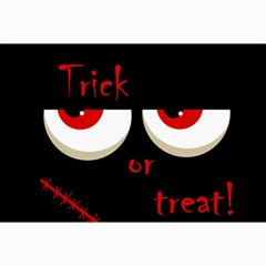 Halloween  Trick or treat  - monsters red eyes Collage Prints