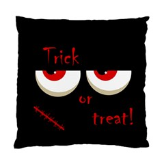 Halloween  Trick or treat  - monsters red eyes Standard Cushion Case (Two Sides)