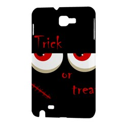 Halloween  Trick or treat  - monsters red eyes Samsung Galaxy Note 1 Hardshell Case