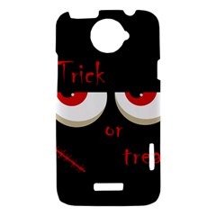 Halloween  Trick or treat  - monsters red eyes HTC One X Hardshell Case