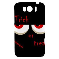 Halloween  Trick or treat  - monsters red eyes HTC Sensation XL Hardshell Case