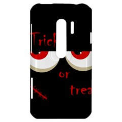 Halloween  Trick or treat  - monsters red eyes HTC Evo 3D Hardshell Case