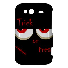Halloween  Trick or treat  - monsters red eyes HTC Wildfire S A510e Hardshell Case