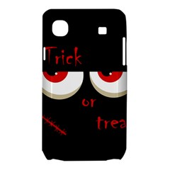 Halloween  Trick or treat  - monsters red eyes Samsung Galaxy SL i9003 Hardshell Case