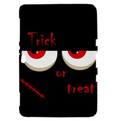 Halloween  Trick or treat  - monsters red eyes Samsung Galaxy Tab 8.9  P7300 Hardshell Case