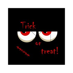 Halloween  Trick or treat  - monsters red eyes Acrylic Tangram Puzzle (6  x 6 )