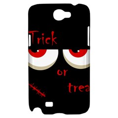 Halloween  Trick or treat  - monsters red eyes Samsung Galaxy Note 2 Hardshell Case