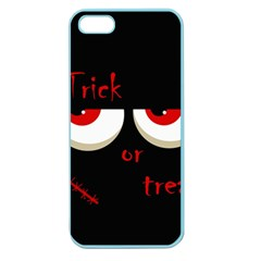 Halloween  Trick or treat  - monsters red eyes Apple Seamless iPhone 5 Case (Color)