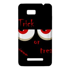 Halloween  Trick or treat  - monsters red eyes HTC One SU T528W Hardshell Case