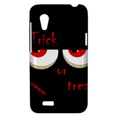 Halloween  Trick or treat  - monsters red eyes HTC Desire VT (T328T) Hardshell Case