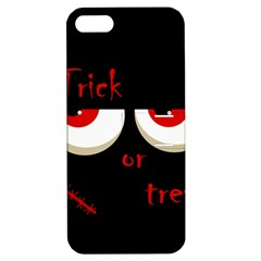 Halloween  Trick or treat  - monsters red eyes Apple iPhone 5 Hardshell Case with Stand