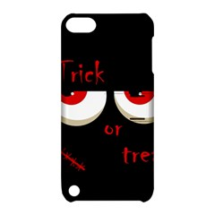 Halloween  Trick or treat  - monsters red eyes Apple iPod Touch 5 Hardshell Case with Stand