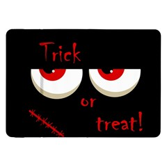 Halloween  Trick or treat  - monsters red eyes Samsung Galaxy Tab 8.9  P7300 Flip Case