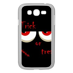Halloween  Trick or treat  - monsters red eyes Samsung Galaxy Grand DUOS I9082 Case (White)