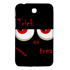 Halloween  Trick or treat  - monsters red eyes Samsung Galaxy Tab 3 (7 ) P3200 Hardshell Case