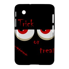 Halloween  Trick or treat  - monsters red eyes Samsung Galaxy Tab 2 (7 ) P3100 Hardshell Case