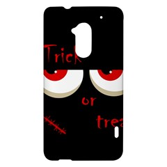Halloween  Trick or treat  - monsters red eyes HTC One Max (T6) Hardshell Case