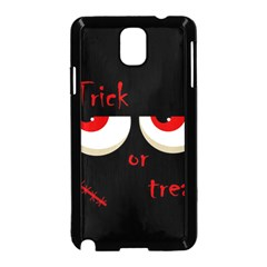 Halloween  Trick or treat  - monsters red eyes Samsung Galaxy Note 3 Neo Hardshell Case (Black)